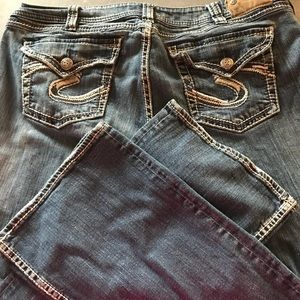 Silver jeans Suki Surplus 20 length 32 plus size